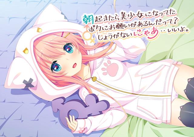 【エロゲー】朝起きたら美少女になってたボクにお願いがあるんだって?しょうがないにゃあ・・いいよ。のトップ画像
