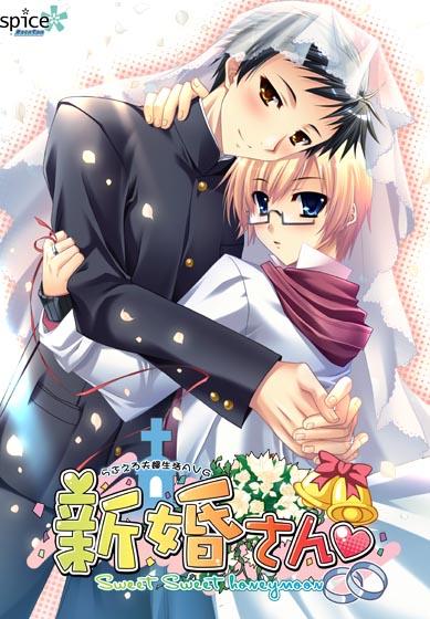 【エロゲー】新婚さん〜Sweet Sweet honeymoon〜のトップ画像